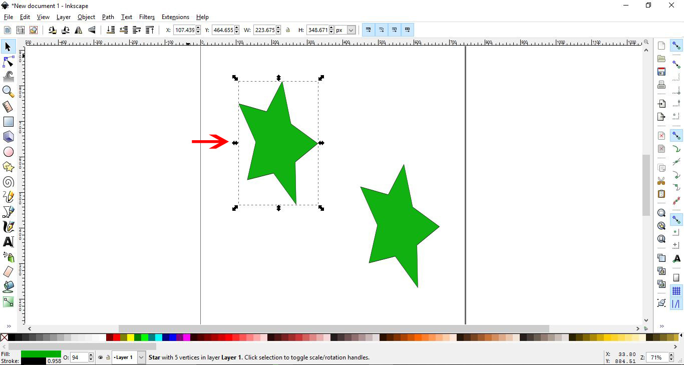 How to use the Clone tool in Inkscape   Design Bundles