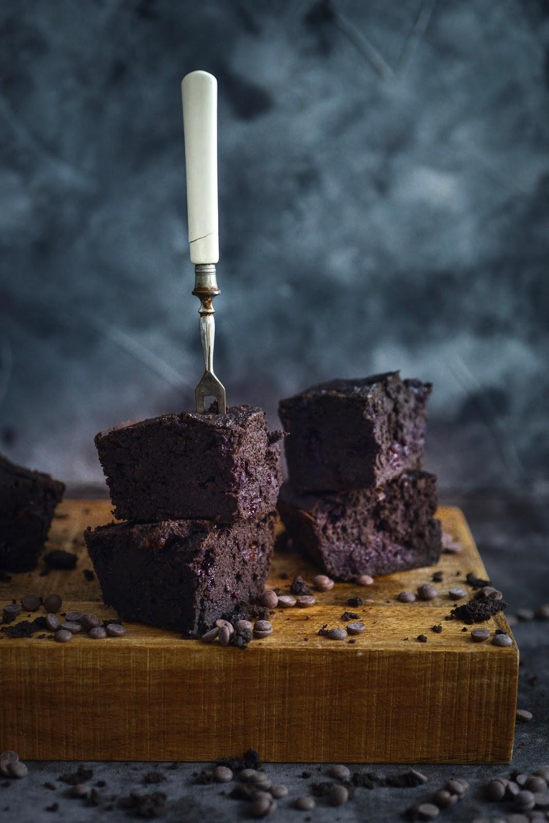 Zdrowe brownie z ciecierzycy