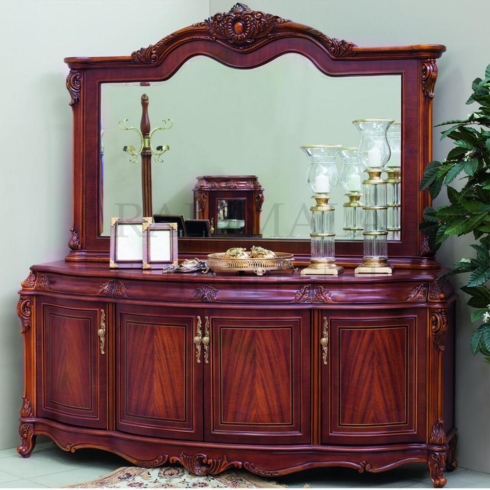 Meja Konsul Jati Mewah Luxury Carving Jepara Terbaru RM-0015