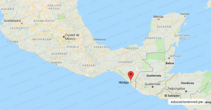 Temblor en México de Magnitud 4.6 (Hoy Sábado 04 Abril 2020) Sismo - Epicentro - CD. Hidalgo - Chiapas - CHIS. - SSN - www.ssn.unam.mx