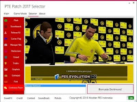 PTE Patch Selector PES 2017