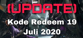 Kode Redeem FF 19 Juli 2020