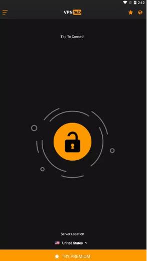 تحميل تطبيق VPNhub