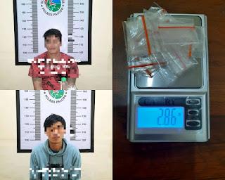 Sat Narkoba Polres Palopo Ringkus Dua Orang Pelaku Penyalahgunaan Narkoba