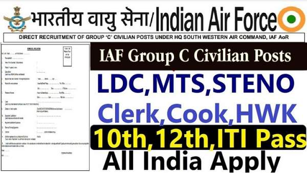 Indian Air Force Group C Civilian Post