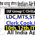 Indian Air Force 1515 Group C Civilian Post Recruitment 2021