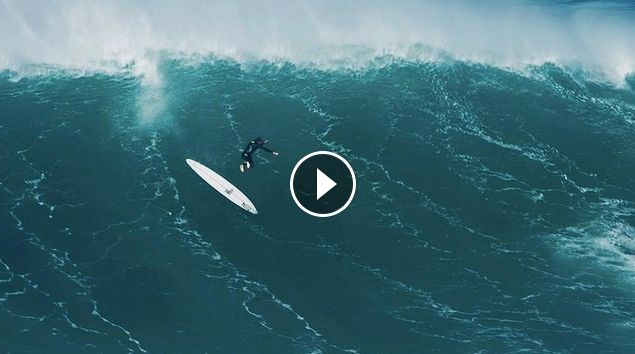 Big Wave Carnage From Nazaré Mega Swell Sessions
