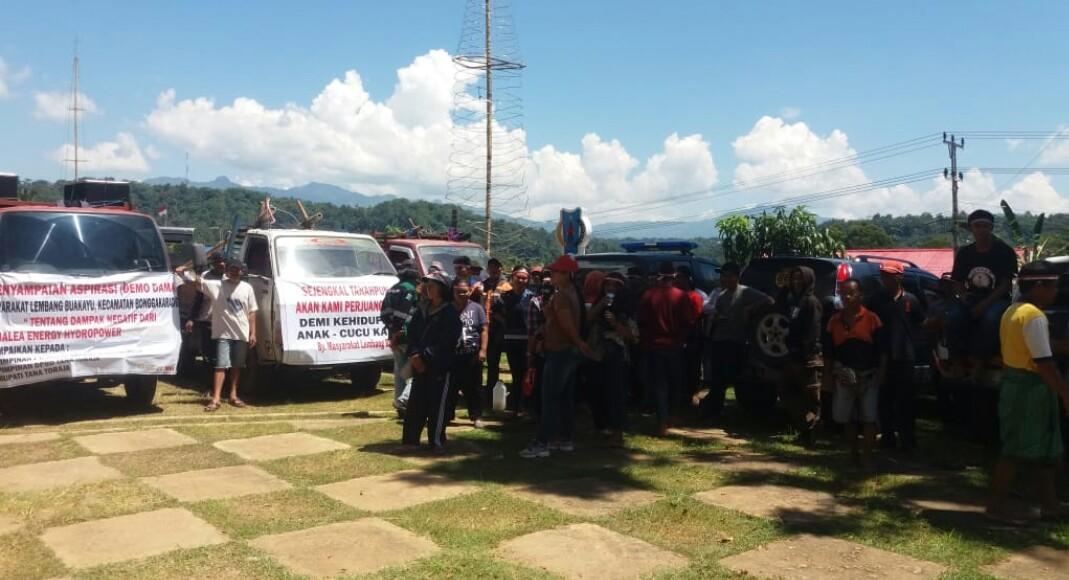 Warga Buakayu Duduki Kantor Bupati Tana Toraja, Desak PT Malea Ganti Nama