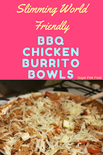 Slimming world BBQ Burrito bowls recipe