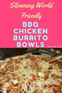 Slimming world BBQ Burrito bowls recipe