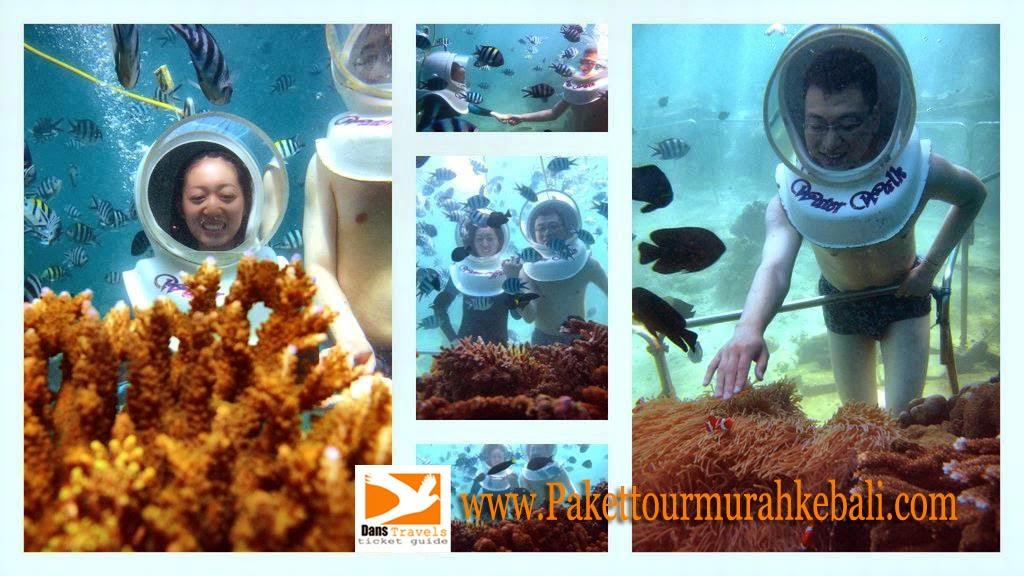 Seawalker Sanur - Waterwalk Sanur - Sanur underwater