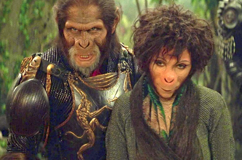 The Blog Of Delights Film Planet Of The Apes 2001