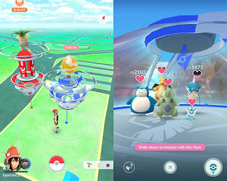 Pokemon Go new gyms placement
