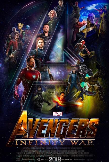 Avengers: Infinity War OPEN MATTE (2018) 720p y 1080p WEBRip mkv Dual Audio AC3 5.1 ch