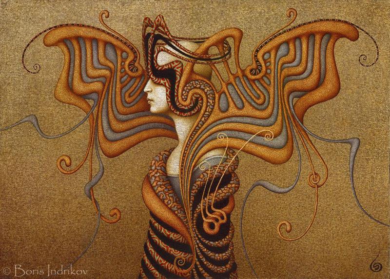 Surreal Paintings by Boris Indrikov.