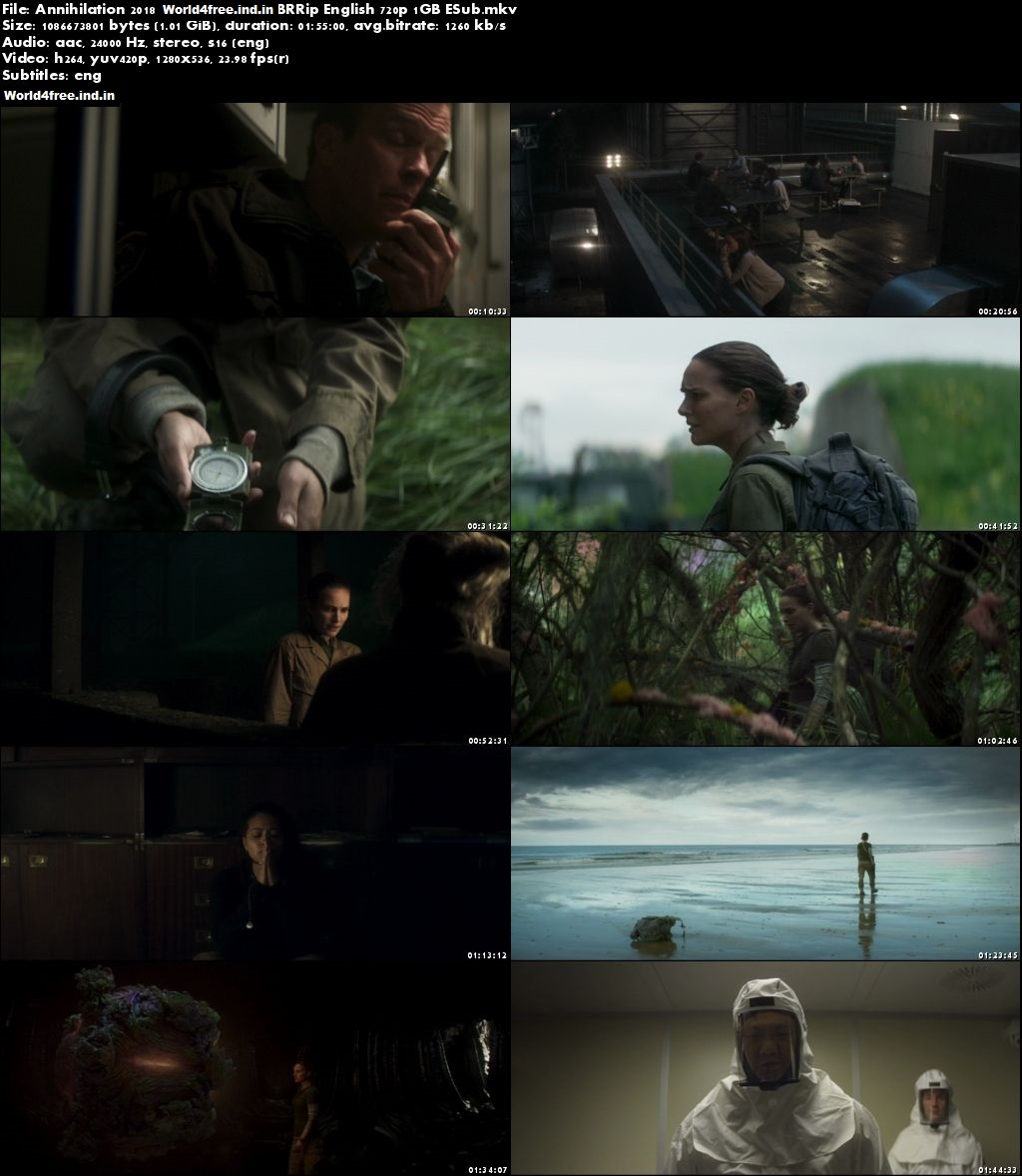 Annihilation 2018 world4free Full Hollywood Movie Download In Hd 720p