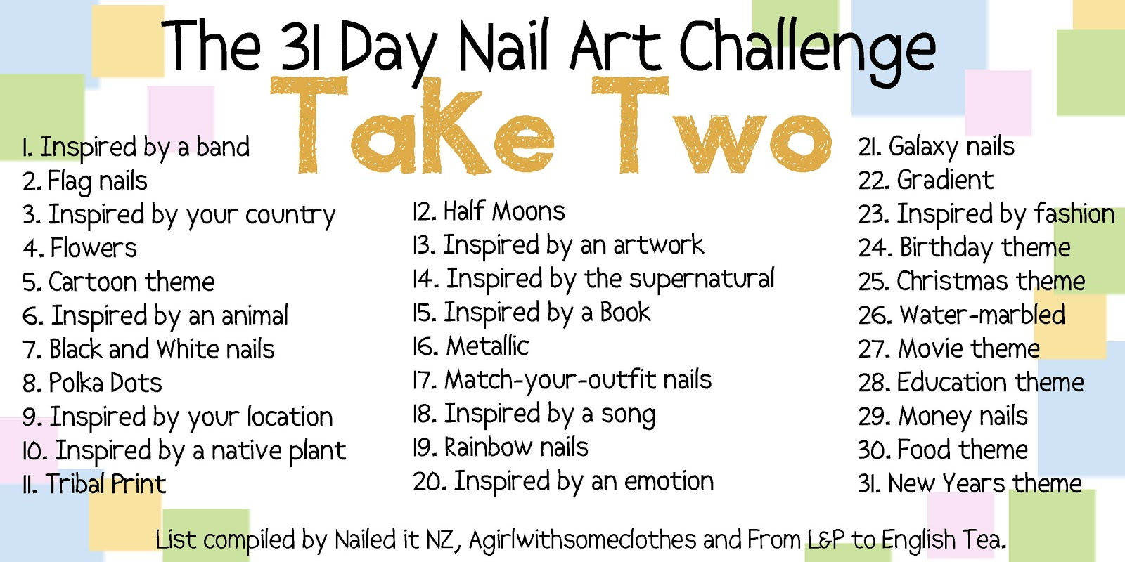 Nail To Nail Interpretations 31 Nail Art Challenge Take