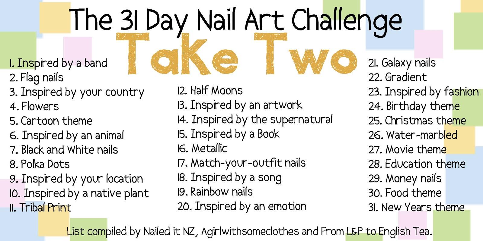 Nail To Nail Interpretations 31 Nail Art Challenge Take