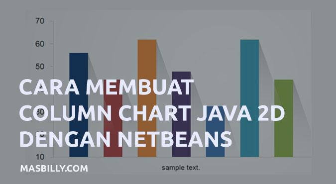 Cara Membuat Column Chart (Grafik Kolom) di Netbeans Java 2D Tanpa Library