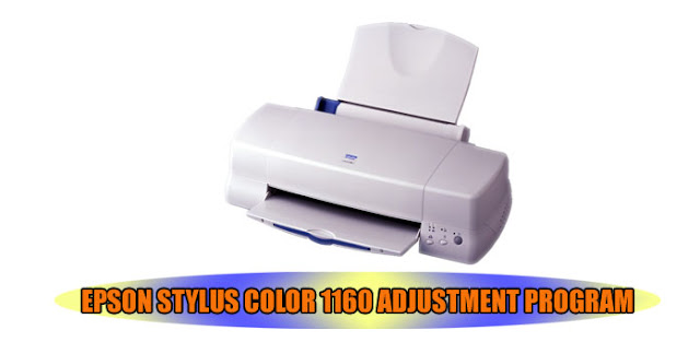 Epson Stylus Color 1160 Printer Adjustment Program