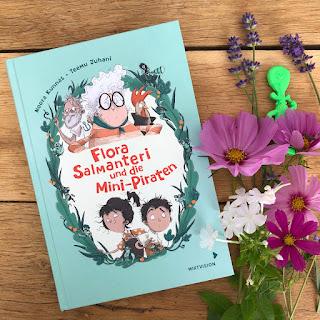 """Kinderbuch """"Flora Salmanteri und die Mini-Piraten"""""""