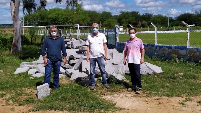 Obra de Calçamento será iniciada na rua Sebastião Freitas da Silva