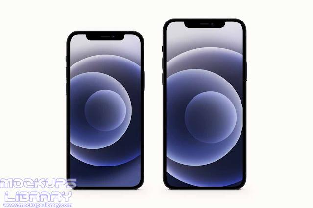 iphone 12 mockup psd 2