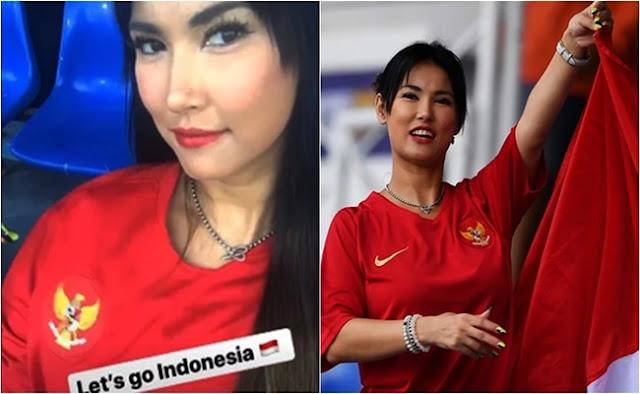 Maria Ozawa Dukung Timnas Di SEA Games 2019