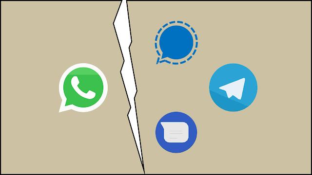 Conheça três alternativas de aplicativos de mensagens que podem substituir o WhatsApp.