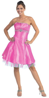 pink prom gown dresses