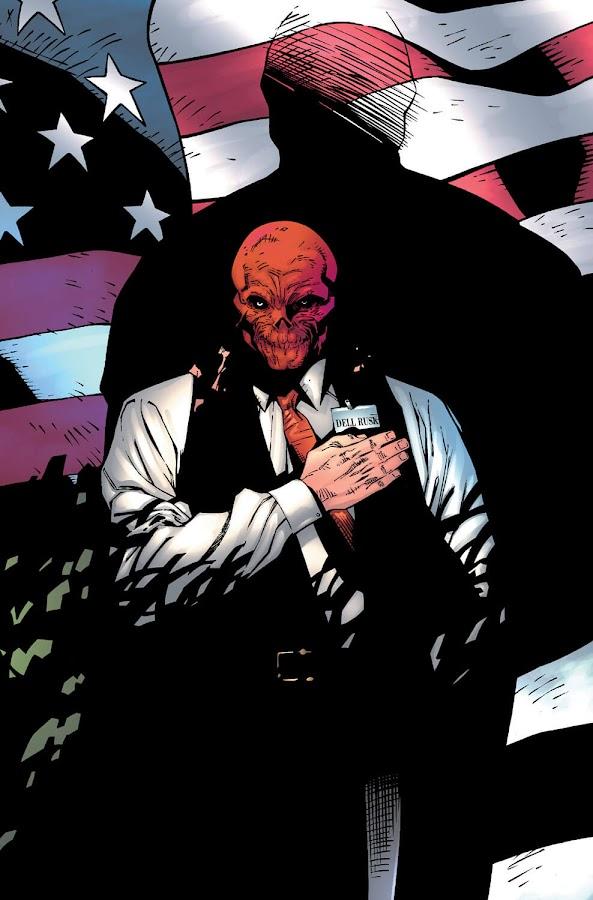 avengers red zone red skull johann shmidt country secretary of defense dell rusk marvel comics geoff johns olivier coipel andy lanning