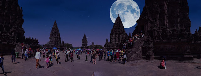 Fitur Sky di Miui Gallery, supermoon,