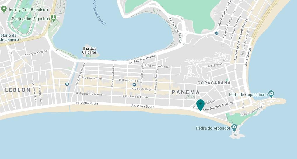 Location Hotel Fasano Rio de Janeiro