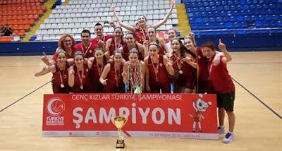 ALTYAPI | Genç Kızlarda şampiyon Galatasaray!