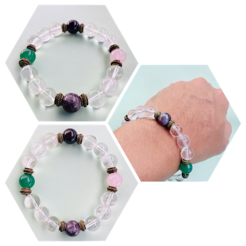 Authentic All-in-one Lucky Charm Crystal Bracelet | Philippines