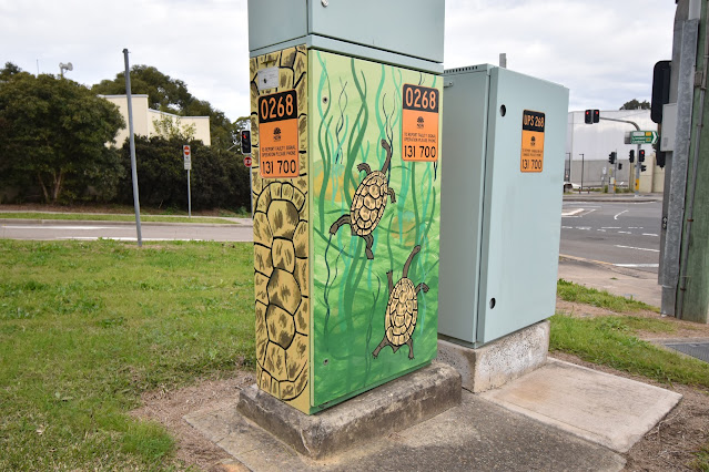 Earlwood Utility Art | Turtles