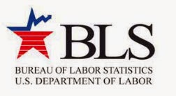 Bureau of Labor Statistics logo, consumer price index CPI