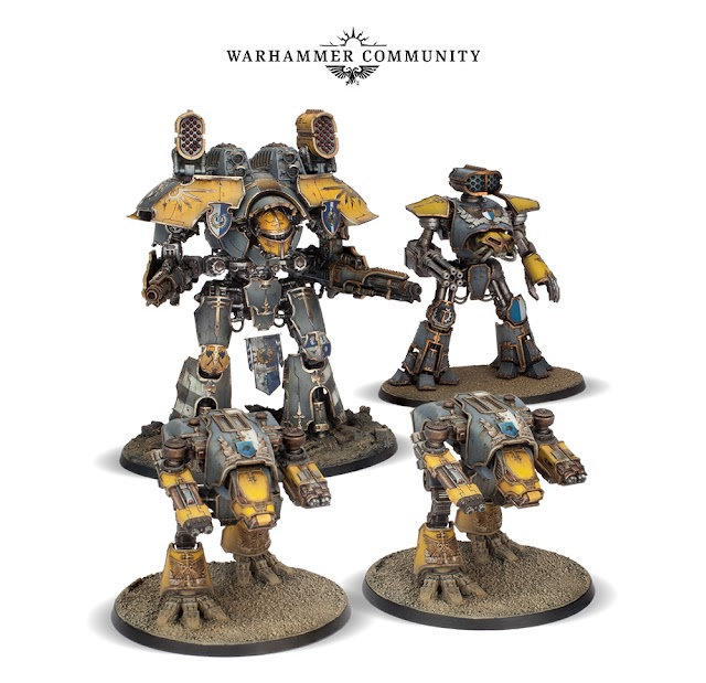 Prices for this weeks Huge List of Pre-Orders: Titans, Battleforce Boxes, Necromunda, Bloodbowl