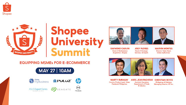 Shopee Invites Entrepreneurs to Join the First Shopee University Summit to Equip them for E-Commerce