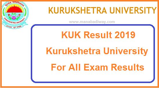 KUK Result 2019