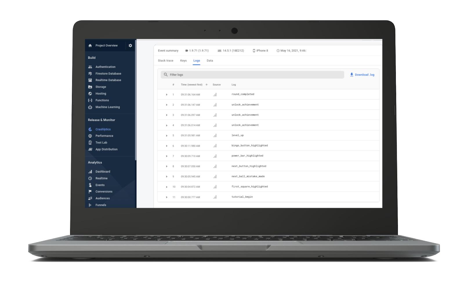 Rutas de navegación en GoogleAnalytics