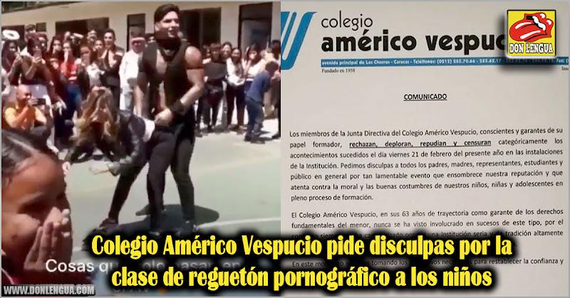 Colegio Américo Vespucio pide disculpas por la clase de reguetón pornográfico a los niños