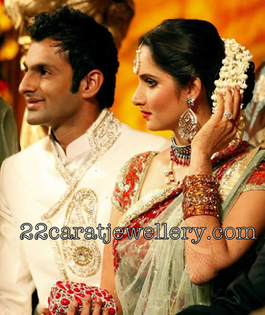 Sania Mirza Wedding Jewelry Jewellery Designs