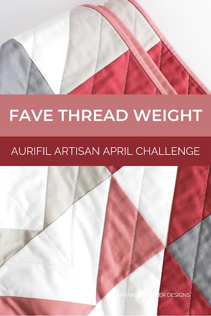 Mod Rose Modern Aztec Quilt featuring 28 wt Aurifil Thread | Fave Thread Weight | Shannon Fraser Designs #modernquilt #quiltpattern #solids #konacotton