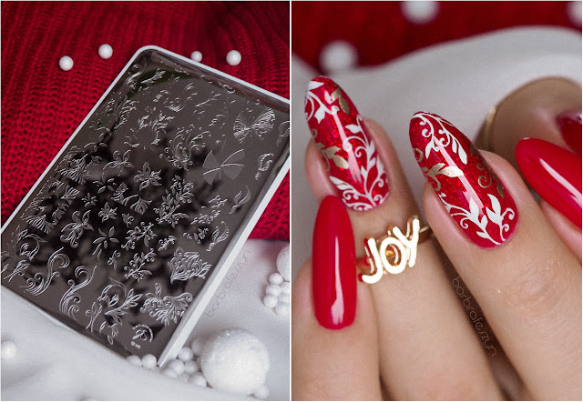 Christmas Clear Jelly Stamper