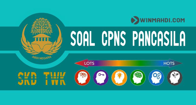 Soal CPNS Pancasila