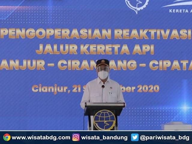 Jalur Kereta Api Cianjur - Ciranjang - Cipatat Diaktifkan Kembali, Senin 21 September 2020
