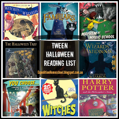 Tween Halloween Reading List