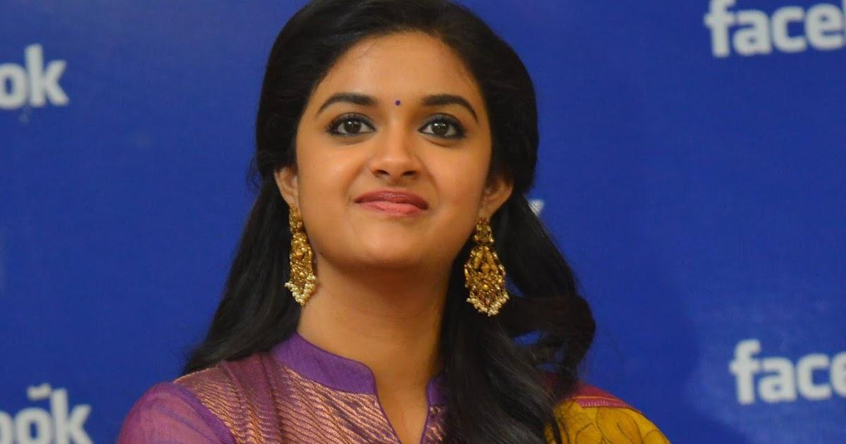 Keerthi Suresh Cute At Facebook Hyd