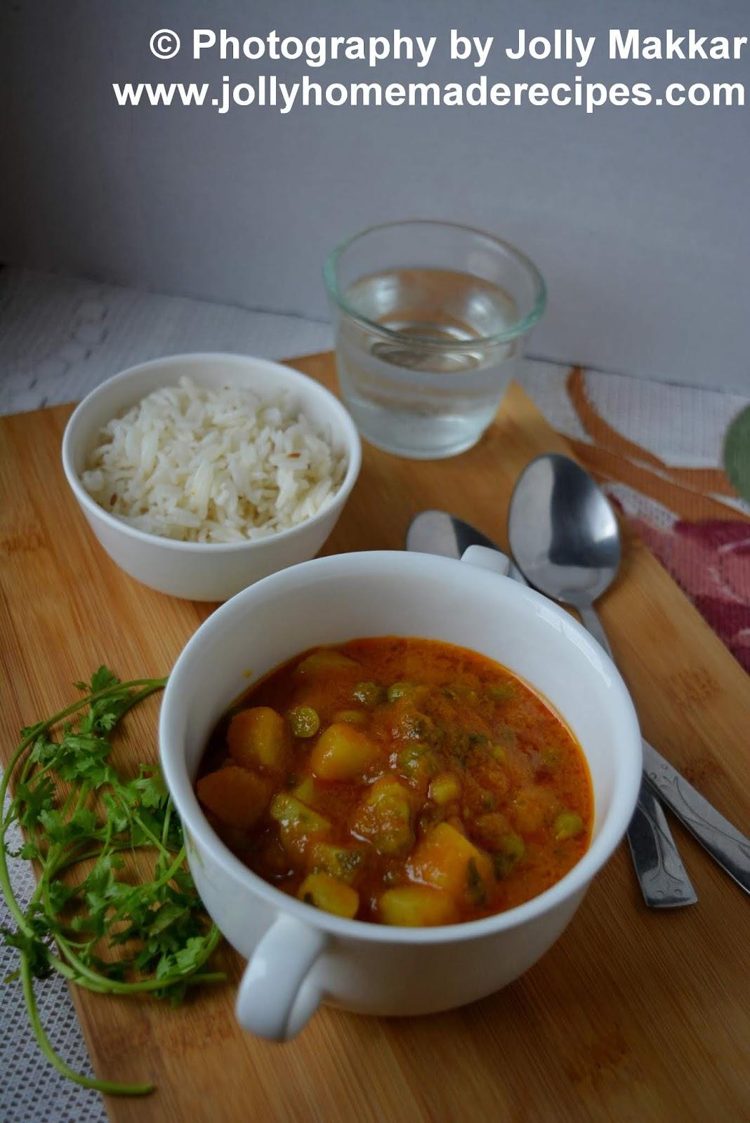 indian potato curry recipe